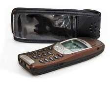 Nokia 6210 6310 6310i Handytasche Ledertasche mit Gürtelclip + Sichtfenster