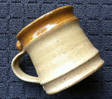 "TASMANIAN ""Brown & Beige"" Stoneware Pottery Mug Decorative Cup"
