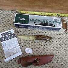 Buck Pro Gold Vanguard WD Serrated knife Chuck Buck Signature (lot#7450)
