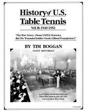History of U. S. Table Tennis: History of U. S. Table Tennis Volume 2 by Tim...