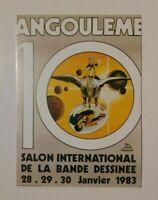 Carte postale GILLON salon international BD 1983 grand prix 82 Angoulême POPEYE