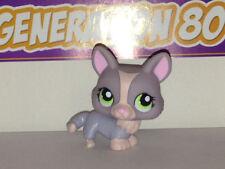 Littlest PetShop Renard Gris Et Rose N°1486 FOX