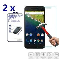2x For LG (Google) Nexus 5X Premium Tempered Glass Screen Protector Film Shield