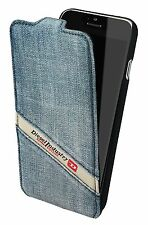 Official Diesel Scissor Flip Case Cover For iPhone 6 / 6S Indigo Denim - NEW