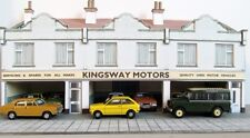 Kingsway, 00 scale, Second hand car showroom, Kit build service.