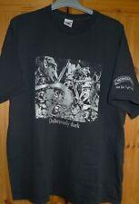 HOBGOBLIN WYCHWOOD BREWERY Deliciously Dark Not for Lagerboys T Shirt Size XL.