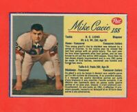 1963 Post CFL card # 158 MIKE CACIC exmt-nrmnt