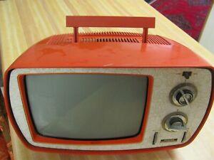 Vintage Philco Solid State Portable Televisio.