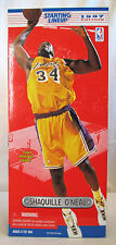 "1997 Shaq Shaquille O'Neal 12"" Starting Lineup LA Lakers Poseable Figure NIB"