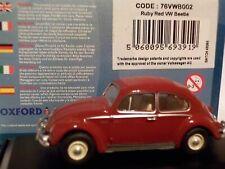 Model Car, Birthday Cake, VW Beetle - Ruby Red