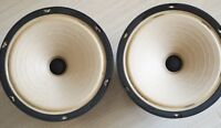 L Cao FA-8 alnico matched full range speaker hand-made cone 8 inches pair !