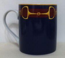 Ralph Lauren Sadie Equestrian Pattern China Mugs ▬ Set Of 4 ▬