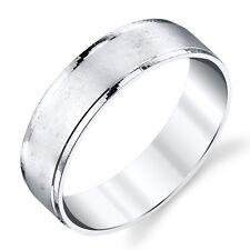 925 Sterling Silver Mens Wedding Band Ring size 8, 9, 10, 11, 12, 13 #SEVB018