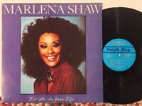 Marlena Shaw Let Me In Your Life EX private South Bay modern soul disco funk