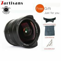 7artisans 7.5mm F2.8 Manual Focus Fisheye Wide Angle Lens For Canon EF-M Mount