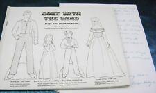 Vtg Paper Dolls Original1974 Gone With The Wind Ralph Hodgdon 24 Dolls Rare Set