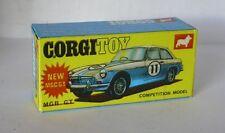 Repro Box Corgi Nr.345 MG Competition Model