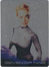 Voyager Heroes & Villains BG10 Seven Of Nine Archive Box Exclusive Metal 055/100