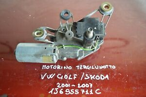 MOTORINO TERGICRISTALLO POSTERIORE SKODA E GOLF 2001-2007 156955711C