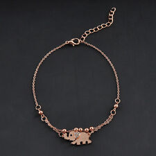 Fashion Chic Elephant Chain Anklet Bracelet Foot Jewelry Barefoot Sandal Beach