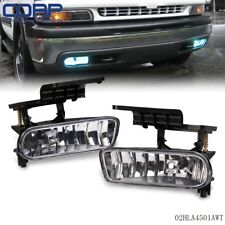 New For 1999-2002 Chevy Silverado 00-06 Tahoe Suburban Fog Lights Bumper Lamps