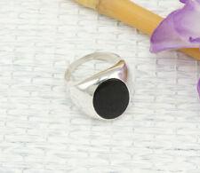 Markenlose Unisex Ringe mit Onyx echten Edelsteinen