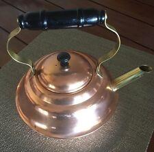 Vintage CopperCraft Guild Dutch Style Tea Kettle Number 1585 Bx2