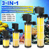 3 in 1 Aquarium Fish Tank Internal Filter Submersible Water Multi-Function Pump