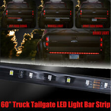 "60"" Waterproof Tailgate LED Light Bar Strip Red/White For Ford F-150 F-250 F-350"