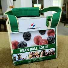 Sportcraft Bean Bag Ball Bocce Set Indoor Outdoor COMPLETE Never Used in Bag Box