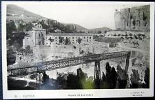 Ecuador ~ 1930's Cuenca ~ Puente De San Pablo ~ Railroad Bridge ~ Rppc