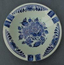 DISTEL DELFTS BLAUW asbak O15cm handpainted ashtray cendrier BLUE Delftware BLAU