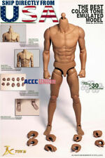 JX TOYS 1/6 Emulated Male Strong Muscular Figure Body JXS03 U.S.A. IN STOCK