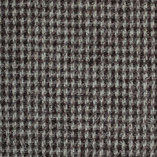 Grey/Brown Small Check Natural Undyed Tweed - 2.50 Mtrs