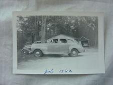 Vintage Car Photo 1941 Plymouth Sedan 812