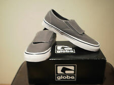 "GLOBE MEN'S ""WARLOCK"" CHARCOAL SKATE /CASUAL SHOES - SIZE 8"