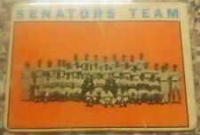 1964 TOPPS #343 Washington Senators Team Card, good condition