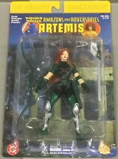 """ARTEMIS DC DIRECT 6"""" ACTION FIGURE NEW IN PACKAGE, DATED 2001 Wonder Woman"""
