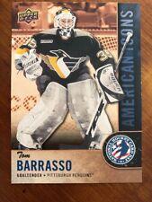 2018 UD National Hockey Card Day American Icons #USA-11 Tom Barrasso