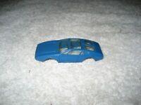 VINTAGE AURORA BLUE TJET MANGUSTA MONGOOSE HO SLOT CAR BODY ONLY