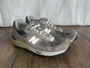 New Balance 991 M991GL Kith Grey Suede USA Size 9.5 US Running Shoes (RARE!!)