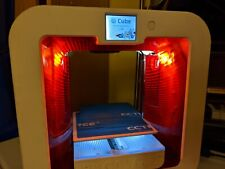 3D Systems Cube 3rd Generation 3d Printer - Use ANY Filament w/ reset - BUNDLE!