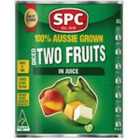 825g Spc Two Fruits In Juice in can