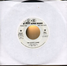 "BOBBY RYDELL The River Is Wide excellent scarce 1968 sunshine beat pop 7"" promo"