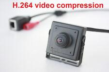 1MP 720P 180degree Fisheye Wide Angle Lens IP Security Camera H.264 Onvif Mini