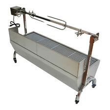 "46"" Stainless Steel BBQ,Spit Roaster,Rotisserie Spit"