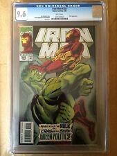 CGC 9.6 Iron Man #305 *2nd FULL App. Hulkbuster*1994* RARE graded!