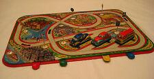 Vintage Traffic Control Spring Powered Car Transportation Game