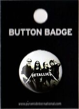 Metallica Group 25mm Button Badge Pin Official Carded
