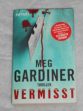 Vermisst von Meg Gardiner (2008, Taschenbuch)